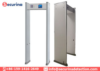 6 Zones Walk Through Security Detector Door Frame For Security Protection