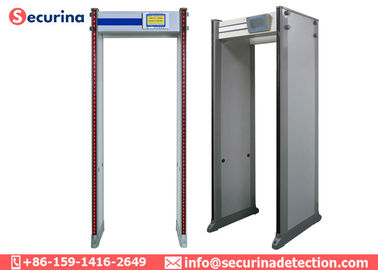 Easy Install Body Scanner Metal Detector , Walk Through Safety Gate 33 Zones supplier