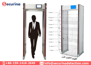 High Sensitivity Station Walk Through Security Detector Body Scanners Security Check