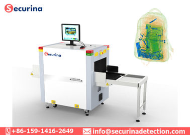 Small Size Parcels X Ray Baggage Scanner Public Place Inspection System