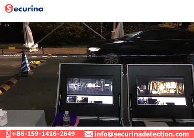 IP68 Waterproof Mobile Under Vehicle Screening System UVSS Camera With ALPR System