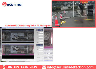 Under Vehicle Car Surveillance Equipment IP68 With Multi Language User Interface