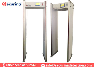 Arch Checkpoint Multi Zone Metal Detector Search Gate For Hotel Security Inspection