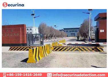 Reflecting Adhesive Strip Warning Anti-terrorist Hydraulic Roadblocker for Vehicle Access Control