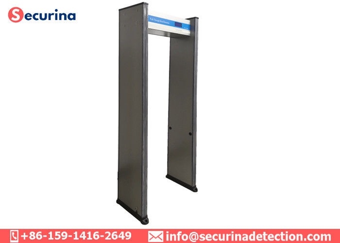 China 16 Alarm Tones Security Metal Detectors , Walk Through Safety Gate Audio Tlarm factory