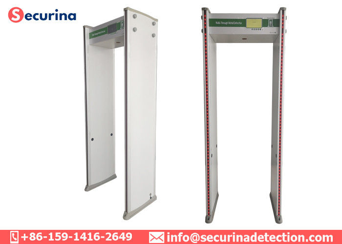 China 100 Working Channel Archway Metal Detector 33/45 Zones Acceptable 700mm Width factory