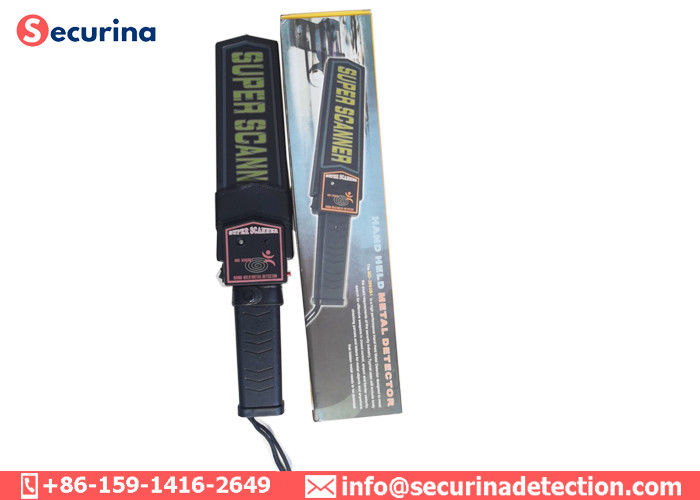 China School Exam Security Guard Hand Held Security Detector For Weapon / Gun Scanning factory