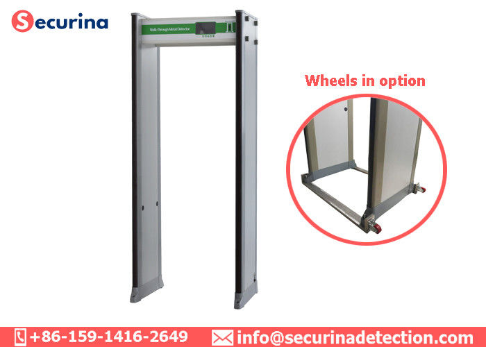 China 300 Level High Sensitivity Archway Metal Detector 760mm Passenger Channel IP65 factory