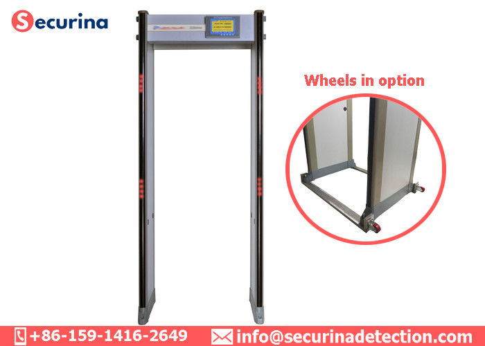 China 0-299 Sensitivity Security Gate Scanner , Body Metal Detector 33 Locations Quick Settings factory
