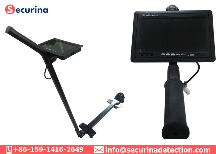China 360 Degree Handheld Undercarriage Inspection Mirror 7 Inch Display Low Voltage Warning factory