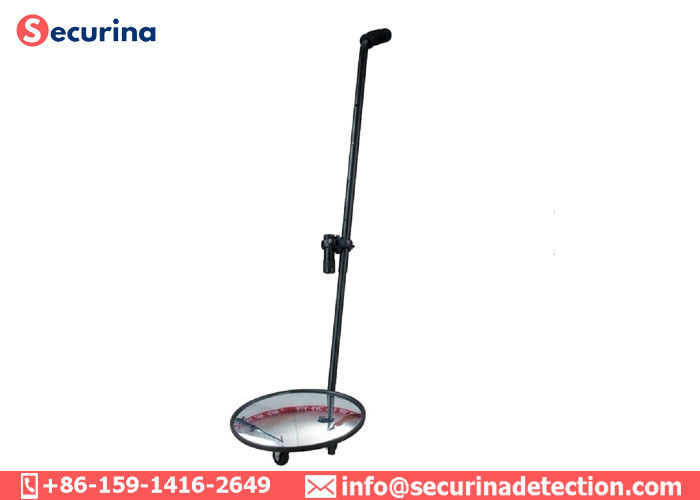 China Lightweight Undercarriage Inspection Mirror 12 Inch Acrylic Lens For Anti Explosion factory