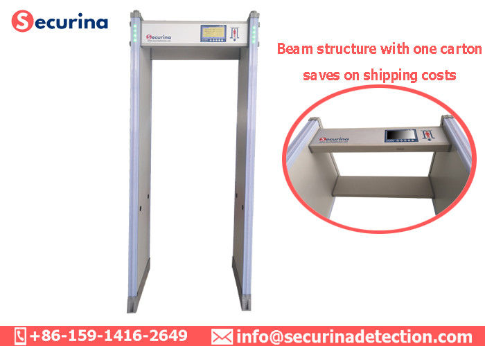 China High End Security Gate Scanner , Metal Detector Walk Through Gate 60 Zones factory