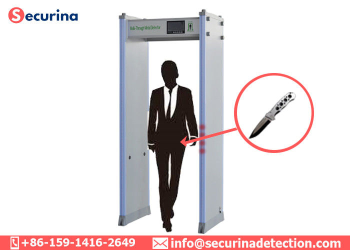 Anti terrorism Walk Through Security Detector Door Frame IP65 Weatherproof