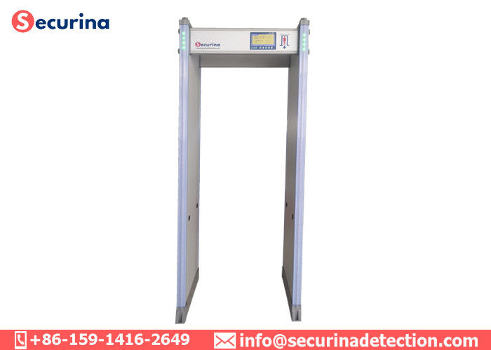 IP65 Walk Through Security Detector 60 Detection Zones Multi Zone Door