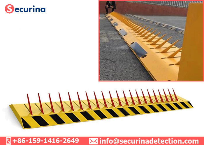 24V Low Noise Tyre Killer Traffic Spikes Road Barrier 3phase 380V