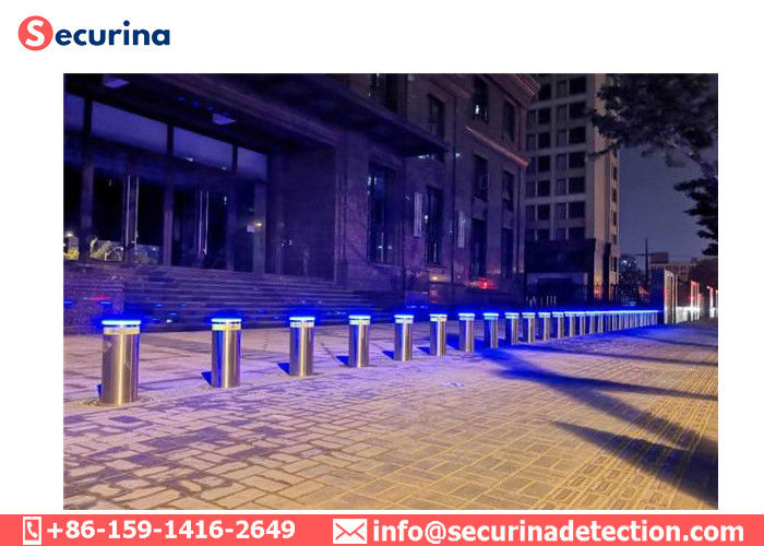 High Security Traffic Bollard Security Barriers For Vehicle Access Controlling
