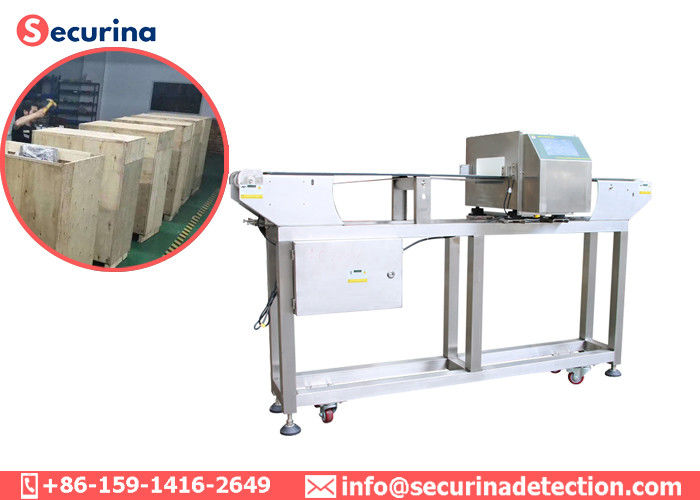 China Automatic Belt Conveyor Food Grade Metal Detectors With LCD Display Screen factory