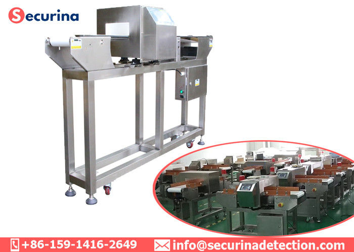 China Belt Conveyor Type Metal Detector For Bakery Industry 220v 50Hz 120W factory
