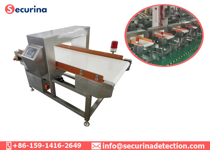 China 450mm Belt Width Food Grade Metal Detectors 1000 Detecting Records Metal Shavings Inspection factory