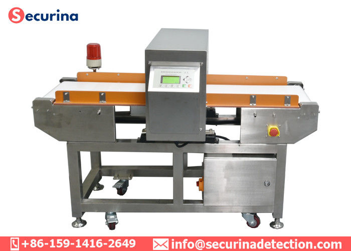 China 250Kgs Industrial Metal Detector Conveyor Customized Dimension Chinese / English Menu factory