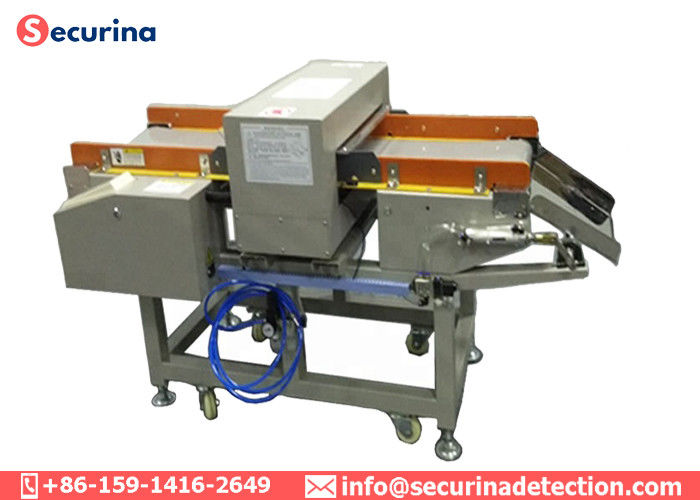 China 120W Conveyor Belt Metal Detector , Industrial Metal Detector For Food Packaging factory